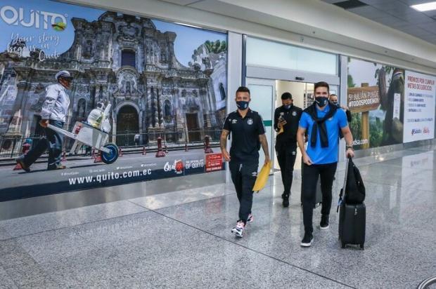 Guerrinha: mudou o quadro do Grêmio contra o Del Valle Lucas Uebel / Divulgação/Grêmio/Divulgação/Grêmio