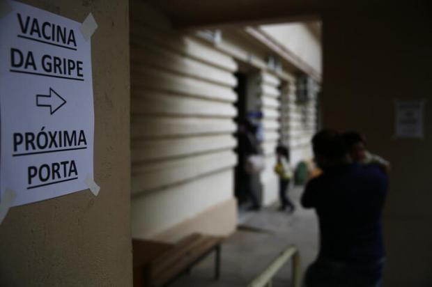 RS começa vacinação de 5 milhões de gaúchos contra a gripe nesta segunda-feira Félix Zucco / Agencia RBS/Agencia RBS