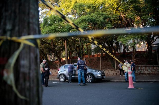 """Jovem morto com sete tiros no Higienópolis """"parecia nervoso e preocupado nos dias que antecederam crime"""", diz pai Marco Favero / Agencia RBS/Agencia RBS"""
