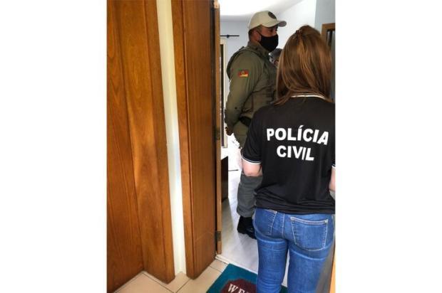 Policiais pulam sacada de apartamento para socorrer idosa que sofria agressões no centro de Caxias Polícia Civil / Divulgação/Divulgação