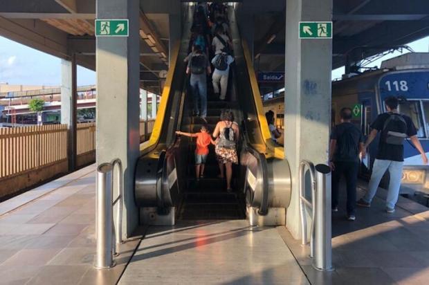 Sugestão de leitora virou manchete: os problemas das escadas rolantes nas estações da Trensurb Arquivo pessoal / Arquivo pessoal/Arquivo pessoal