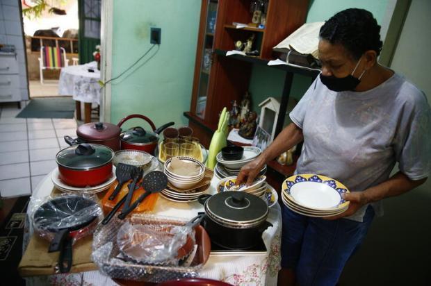 """Colecionar os kits do """"Junte & Ganhe"""" é tradição de família Félix Zucco / Agencia RBS/Agencia RBS"""