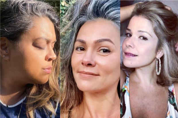 Mitos e verdades sobre os cabelos brancos Instagram / Reprodução/Reprodução