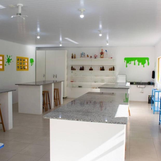 Escola de São Lourenço do Sul finaliza construção de laboratório de ciências após campanha de arrecadação Arquivo Pessoal / Arquivo Pessoal/Arquivo Pessoal