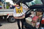 Hospital Porto Alegre recebe doação de mais de oito toneladas de alimentos (Laura Becker / Agencia RBS/Agencia RBS)