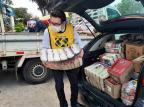 Hospital Porto Alegre recebe doação de mais de oito toneladas de alimentos Laura Becker / Agencia RBS/Agencia RBS