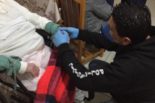 Dona de clínica geriátrica é presa por manter idosa amarrada e em péssimas condições de higiene em Porto Alegre Ronaldo Bernardi / Agencia RBS/Agencia RBS