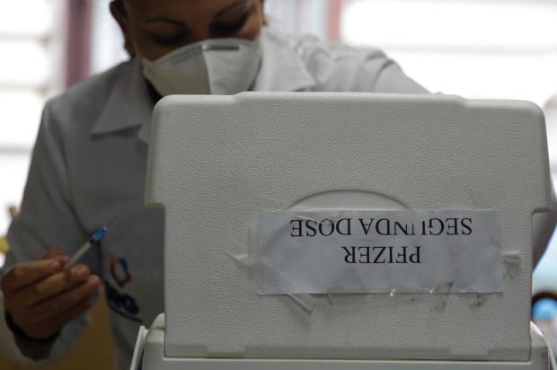 Segunda dose da vacina da Pfizer está atrasada há mais de 90 dias para 461 pessoas na Capital Mateus Bruxel / Agencia RBS/Agencia RBS