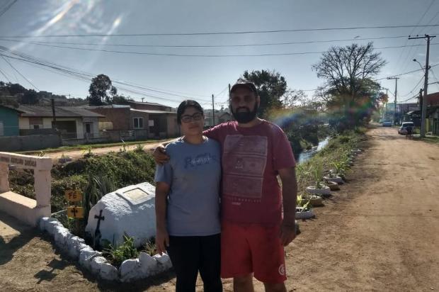 Moradores revitalizam área onde havia lixo em Viamão Reprodução / Arquivo Pessoal/Arquivo Pessoal