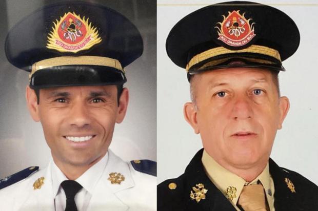 Bombeiros que morreram em incêndio na SSP recebem promoção póstuma CBMRS / Divulgação/Divulgação