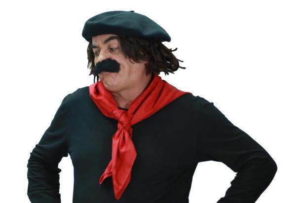 """Guri de Uruguaiana aconselha seu fiel escudeiro: """"Vai estudar, Licurgo!"""" Fabrício Eckhard / Divulgação/Divulgação"""