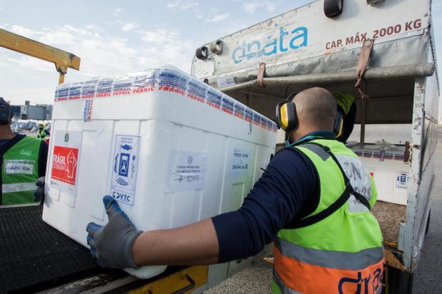 Em primeira remessa de setembro, RS receberá 166 mil doses de vacinas contra a covid-19 Felipe Dalla Valle / Palácio Piratini/ Divulgação/Palácio Piratini/ Divulgação