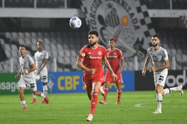 Luciano Périco: o empate do Inter na Vila Belmiro foi um baita negócio Ricardo Duarte / Internacional SC/Divulgação/Internacional SC/Divulgação