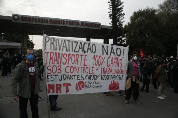 Melo diz a rodoviários da Carris que vai negociar projeto de privatização por 10 dias Ronaldo Bernardi / Agencia RBS/Agencia RBS