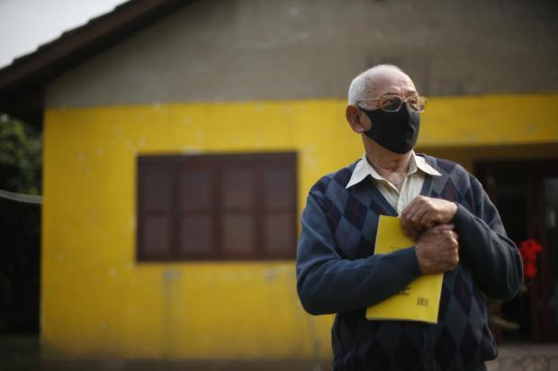 """Aos 85 anos, agricultor conquista vaga na universidade: """"Não me sentia completo"""" Lauro Alves / Agencia RBS/Agencia RBS"""