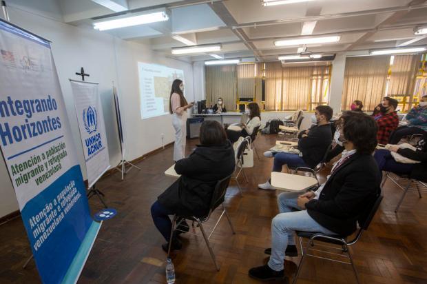 Em evento na Capital, ONG mobiliza empresas para contratação de imigrantes e refugiados Jefferson Botega / Agencia RBS/Agencia RBS