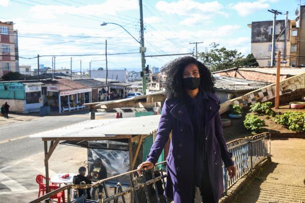 Psicóloga oferece atendimento a baixo custo em comunidade na Zona Norte da Capital André Ávila / Agencia RBS/Agencia RBS