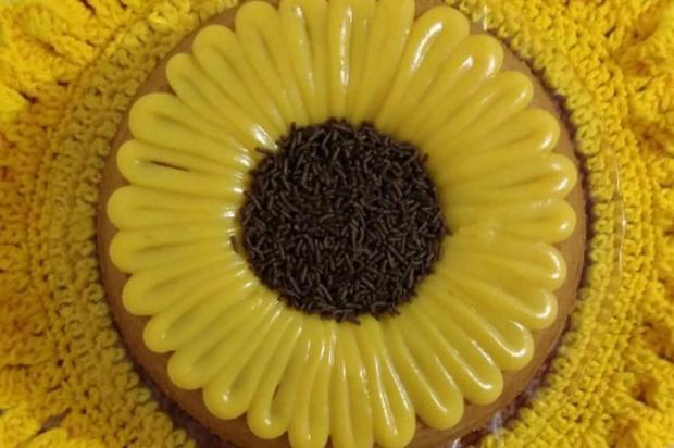 Confira como preparar o bolo girassol da Débora Reprodução / Arquivo Pessoal/Arquivo Pessoal