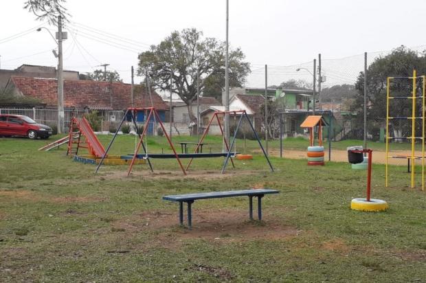 Moradores Restinga se mobilizam para instalação de brinquedos inclusivos Arquivo Pessoal / Arquivo Pessoal/Arquivo Pessoal
