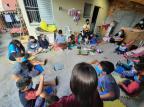 Voluntários ajudam moradores de rua e famílias carentes de Porto Alegre Grupo Amor em Ação / Reprodução/Reprodução