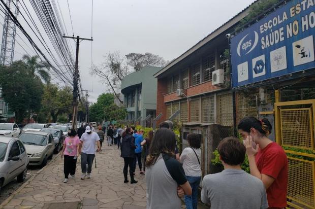 Confira como será a vacinação contra a covid-19 nesta quarta-feira na Capital Eduardo Paganella / Agencia RBS/Agencia RBS