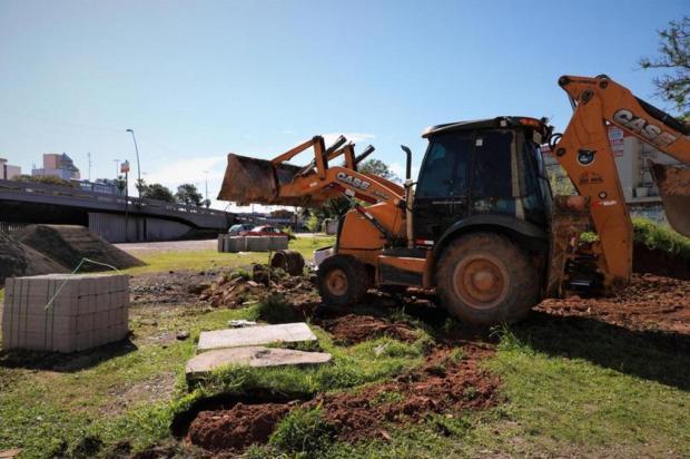 Obras da Voluntários da Pátria são retomadas após cinco anos Robson Da Silveira / PMPA / Divulgação/Divulgação