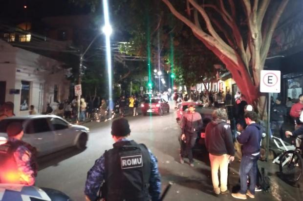 Guarda Municipal desfaz aglomeração com cerca de 200 pessoas no Centro Histórico Guarda Municipal / Divulgação/Divulgação