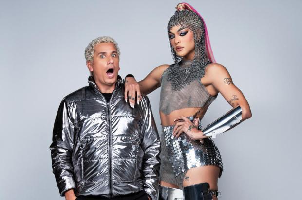 Pabllo Vittar e Rafael Portugal apresentam o MTV MIAW nesta quinta-feira Ernna Cost / MTV,Divulgação/MTV,Divulgação