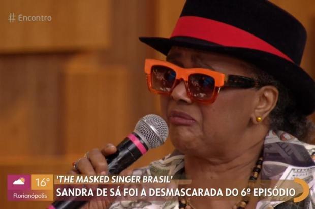 """""""Não sei disfarçar a voz"""", diz Sandra de Sá sobre ter sido reconhecida no """"The Masked Singer Brasil"""" TV Globo / Reprodução Gshow/Reprodução Gshow"""