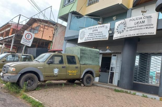 Funcionário de pizzaria é preso em Gravataí por suspeita de abuso sexual de criança Brigada Militar / Divulgação/Divulgação