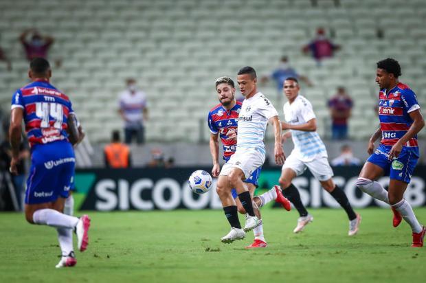Cacalo: chega de derrotas para o Grêmio no Brasileirão LUCAS UEBEL / GREMIO / DIVULGAÇÃO/GREMIO / DIVULGAÇÃO