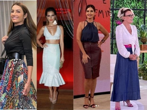 Saiba que tipo de saia mais combina com seu corpo e estilo Instagram / Reprodução/Reprodução
