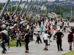Novo trecho da orla do Guaíba é aberto e recebe grande público em Porto Alegre Mateus Bruxel / Agencia RBS/Agencia RBS