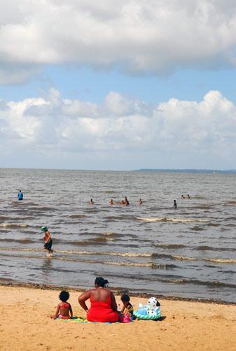 As praias de água doce da Região Metropolitana Andréa Graiz/