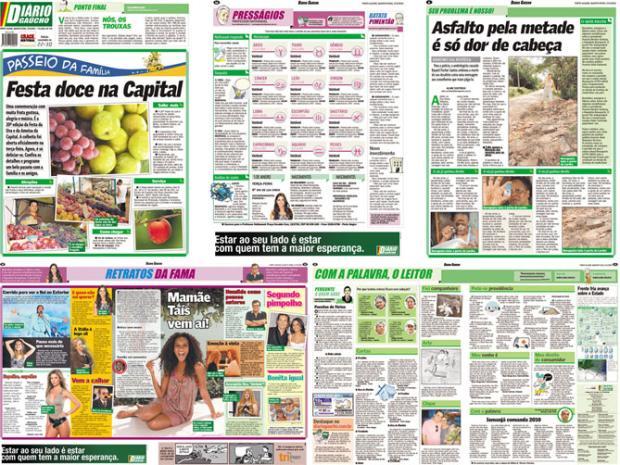 Nova era para o Diário Gaúcho a partir de segunda-feira Diário Gaúcho/
